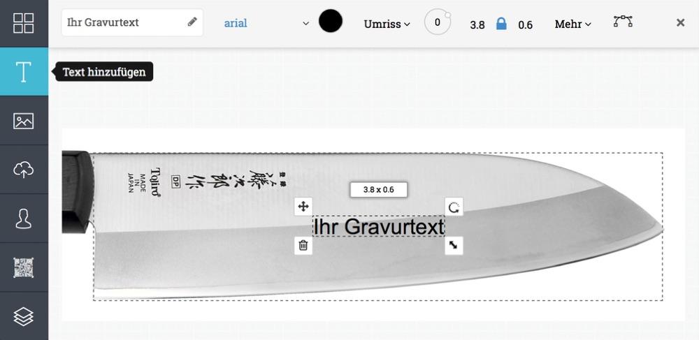 Scharfe-Kochmesser.de mit gratis Gravur Service!