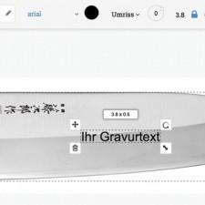 Messer mit kostenlosem Gravur-Service!