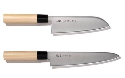 Santoku Messer oder Kochmesser