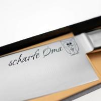 Scharfe Oma (Schriftzug \