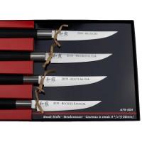 Kai Wasabi Steakmesser Set (Schriftzüge \